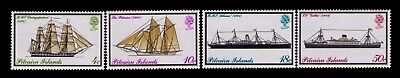 Pitcairn Islands 1975 QEII SC# 147-50 Cpl. MLH set,CV:5.25