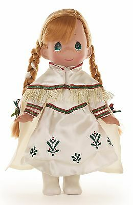 "Anna's Christmas Memories  - Precious Moments 12"" Vinyl Doll"