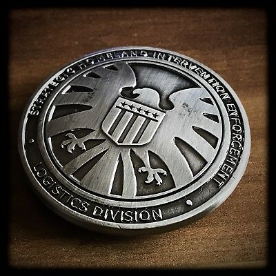 S.H.I.E.L.D. ✪ POLICE BADGE ✪ Marvel's Agents of Shield ✪ Avengers ✪ Iron Man