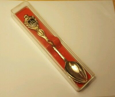 In the box 1958 World's Fair Atomium Spoon Science Memorbelia nice condition