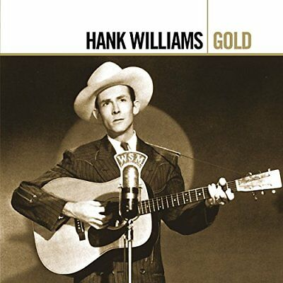 WILLIAMS*HANK - Gold - 2 CD - Best Of Original Recording Remastered - SEALED/NEW