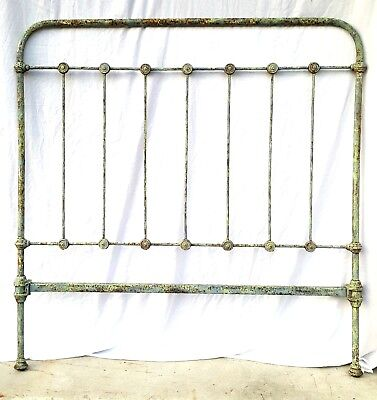 SALE! 1910s Antique New Orleans French Full Size Headboard Architectural Salvage