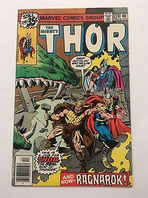 Thor #278 (Dec 1978, Marvel)