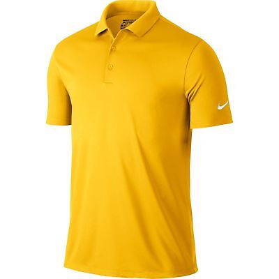 6eff4f91 Nike Golf CLOSEOUT Men's Victory Solid Polo (Amarillo) 725518-728 Was $55