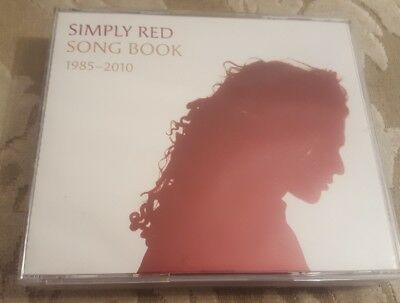 Simply Red Song Book 1985 - 2010 The Definitive 4 cd Box Set cds Near Mint  y4