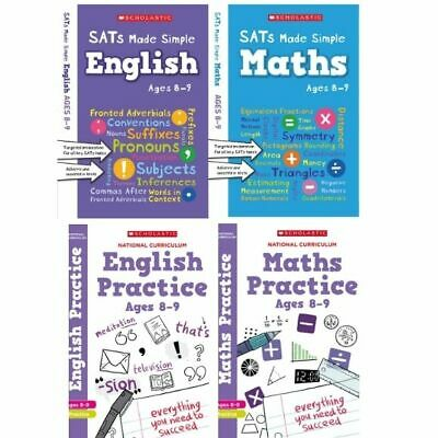 Scholastic Year 4 SATs Revision English & Maths Book Pack (RRP £27.96)
