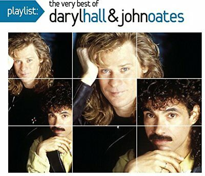 PLAYLIST VERY BEST OF DARYL HALL - Hall, Daryl John Oates - CD - Best Of - *NEW*