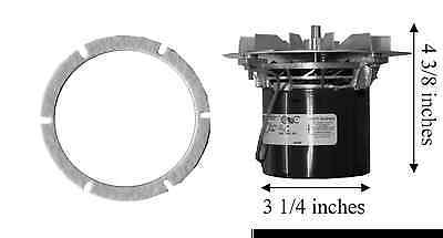 HARMAN Stove Exhaust Hub Tailpipe Cast Venting Connection Adapter 3-00-247237