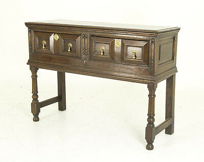 Petite Oak Dresser | Antique Sideboard, Server | Scotland 1790 | B560