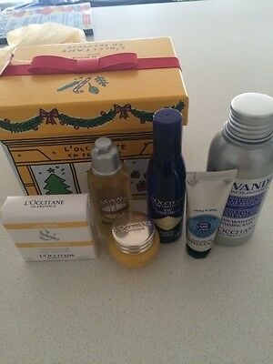 L'occitane Irresistable Favorites Kit New in Box Christmas collection divine +
