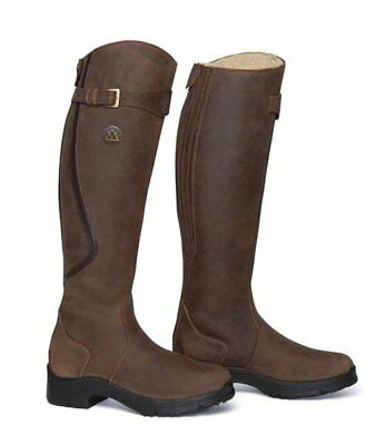 MOUNTAIN HORSE Unisex Winter Reitstiefel SNOWY RIVER braun