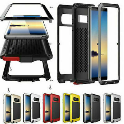 Heavy Duty Tough TANK Armour Hard Case Cover For Samsung Galaxy S10 S8 S9 Note