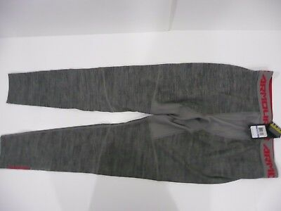 Under Armour Mens Xl Gray Cold Gear Compression Tights 1264296 Nwt