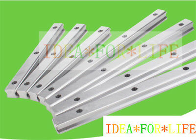 1pc New Hiwin HGR15 Series HGR15H Linear Guide way Rail Bar,Length 100 to 1000mm