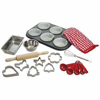 Bigjigs Toys Young Chefs Baking Cooking Play Set For Kids / Children