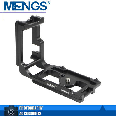 "MENGS 5DSR 1/4"" L-Shaped Quick Release Plate Aluminium Alloy For Canon 5DS/ 5DSR"