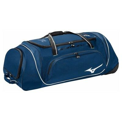 (navy) - Mizuno Samurai G4 Catcher's Wheel Bag. Free Shipping