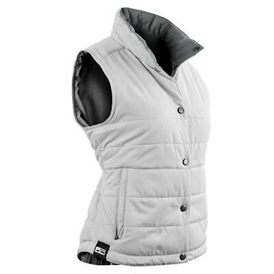 Sun Mountain Alpine Golf Vest 2016 Ladies White/Grey X-Large. Brand New
