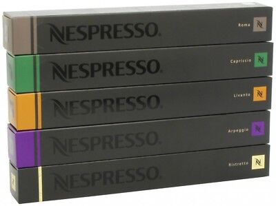 5 Most Popular 50 Capsules Nespresso Coffee Variety Pack Mixed Pod