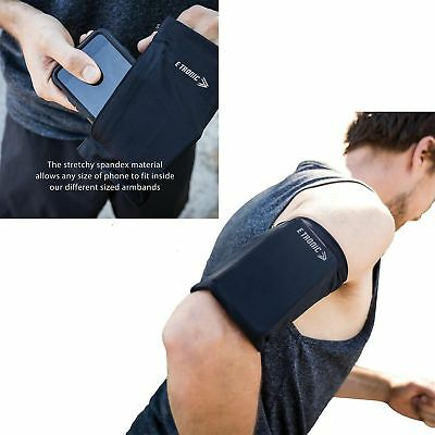 Universal Armband Sleeve Workout Gym SmartPhone Strap Holder Pouch Case iPhone X