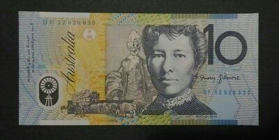 UNC 2012 $10 DF Last Prefix - Perfect Condition Note- Fast Post - Ten Dollars