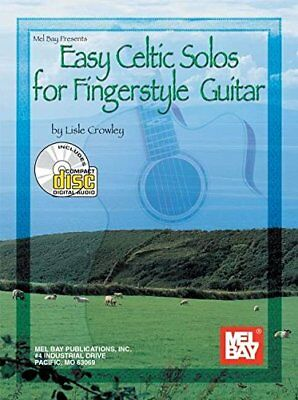 MEL BAY EASY CELTIC SOLOS FOR FINGERSTYLE GUITAR BOOK/CD SET By Lisle NEW