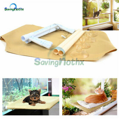 Soft Cat Window Mounted Hammock Bed Seat Pets Sunny Beds Cover Washable Softer