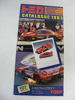 Tomica Dandy Catalogue 1983 No 2 Like New