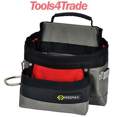 CK MA2716A Magma Builders/Tradesman Tool Belt Bag/Pouch WithTape & Hammer Holder