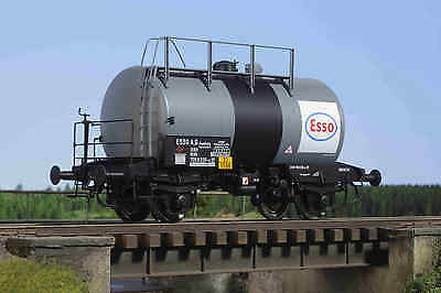 Kiss 1 Gauge Tank Wagon Tank Truck Esso with Black Cigar Band New Sondermodell