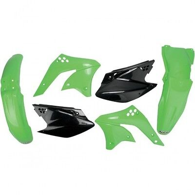 Completo body kit kawasaki kxf250 color del oem - Ufo 14030467 (KAKIT210E-999)