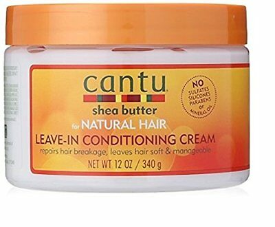 Cantu Shea Butter for Natural Hair Leave In Conditioning Repair Cream, 12 New