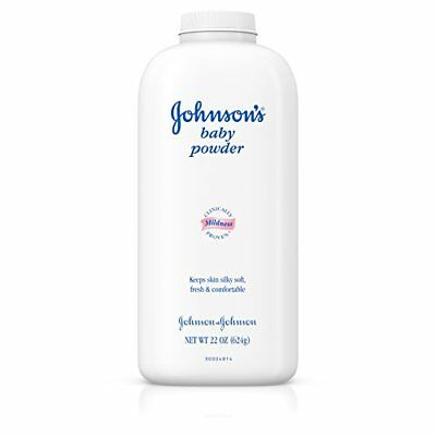 Johnsons Baby Powder, Classic Scent, 22 Oz Pack of 3 NEW, Free Shipping