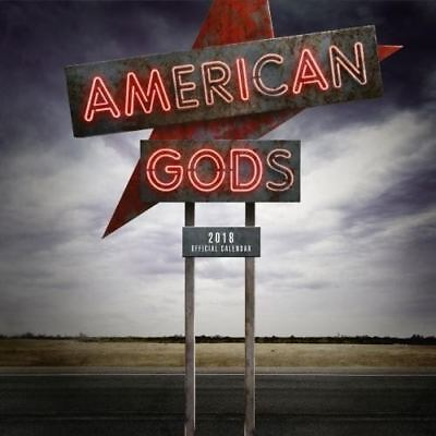 American Gods Official 2018 Square Wall Calendar