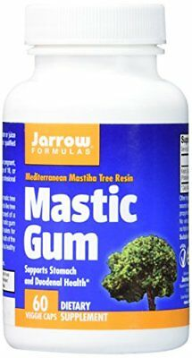 Jarrow Formulas Mastic Gum, Supports the Stomach and Duodenal Health, 60 New