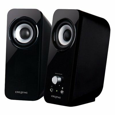 Creative Inspire T12 2 0 Multimedia Speaker System with Bass Flex Technology NEW