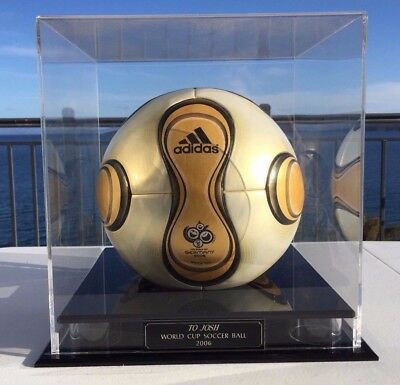 2006 FIFA Germany World Cup Match Ball   *Mint Condition with Glass Case*