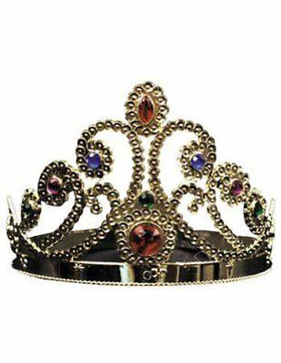Gold Adjustable King and Queen Crown NEW, Free Shipping