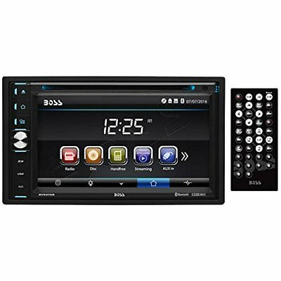 BOSS Audio BV9376B Double Din, Touchscreen, Bluetooth, DVD/CD/MP3/USB/SD New