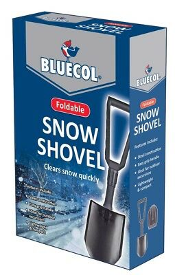 Bluecol Foldable Snow / Garden Shovel BFS000 Car Emergency Winter Essential