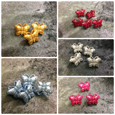 Butterflies Novelty Buttons – 18mm – Wholesale Packs