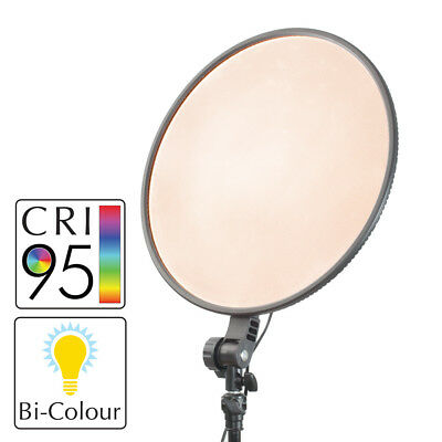 Slim Profiled Continuous Dimmable Battery Powered Bi-Colour LED Panel Lighting