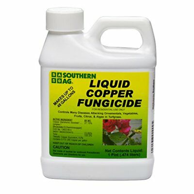 Southern Ag Liquid Copper Fungicide, 16oz 1 Pint NEW, Free Shipping