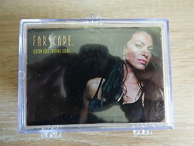 Farscape Season Four (Rittenhouse) - Complete Base TC Set (72 Cards)