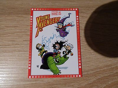 """2013 Upper Deck Marvel Now! #121-SY """"Young Avengers"""" #1"""