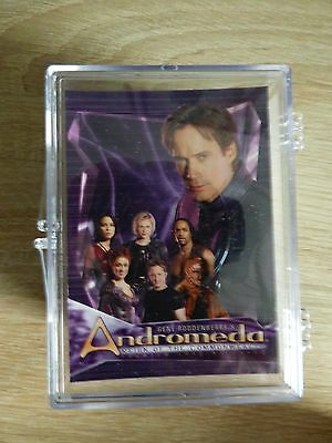 Andromeda Commonwealth (inkworks 2004) - Complete Base Card Set (90 Cards)