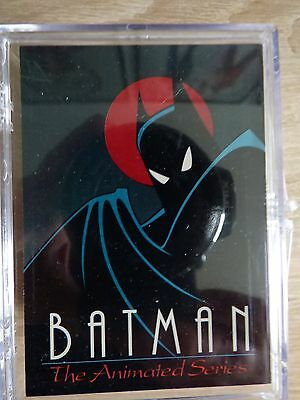Batman Animated Series (Topps 1993) Complete trading card set (100 Cards)