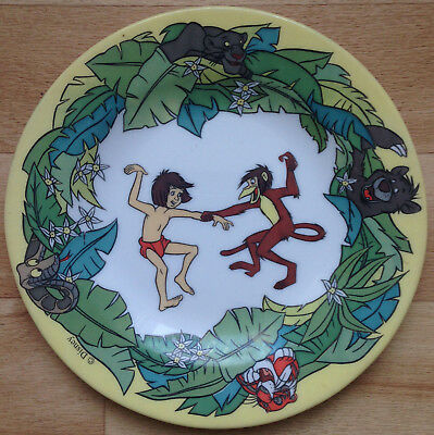 ASSIETTE WALT DISNEY Le Livre de la Jungle ARCOPAL France