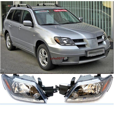 2003-2005 For MITSUBISHI Outlander Front Head lamp Headlights Assembly Set 2 PCS
