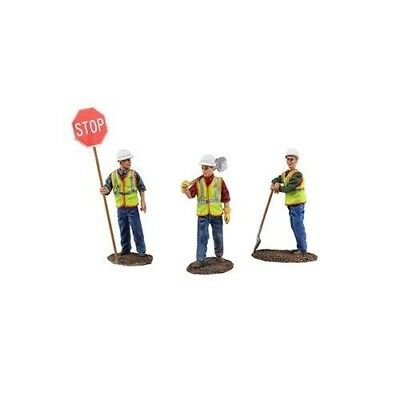Diecast Metal Construction Figures 3pc Set #1 1/50 by First Gear. Huge Saving